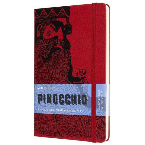 Блокнот Moleskine LE PINOCCHIO The Mangiafuoco (LEPIQP062D) 130х210 мм, 240 стр. без линовки, красный/черный