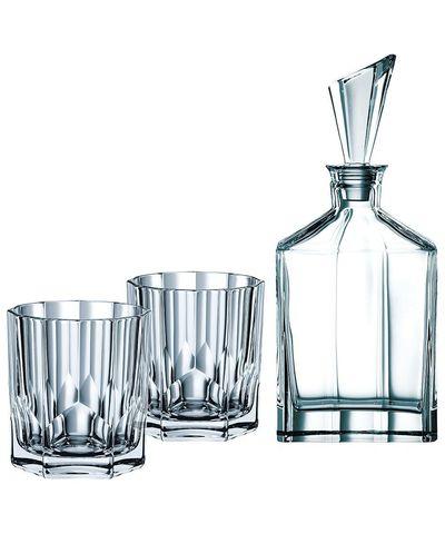 Набор для виски Nachtmann Aspen, декантер и 2 стакана