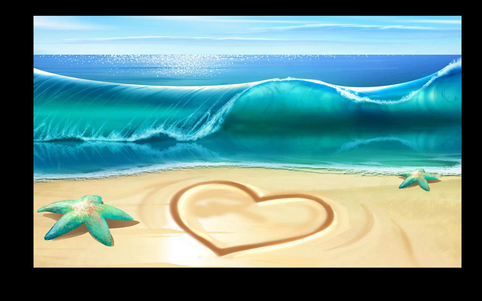 """Постеры Постер """"Океан любви"""" п221.png"""