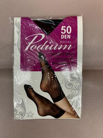 ROYAL Podium носки Микрофибра 50 den. Черный