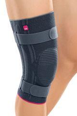 Бандаж коленный мягкий Genumedi plus с силиконовым кольцом для надколенника с дополнительными ремнями