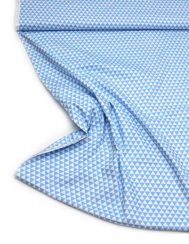Треугольники синие