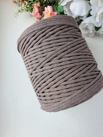 Мокко Хлопковый шнур 4 мм