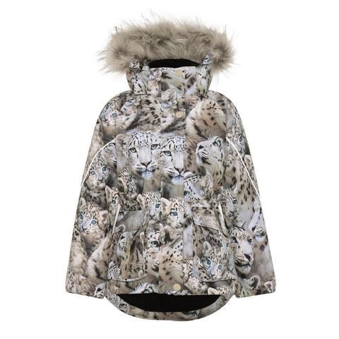 Куртка Molo Cathy Fur Snowy Leopards