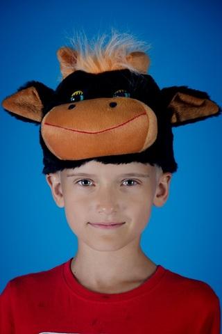 Карнавальная шапочка Быка