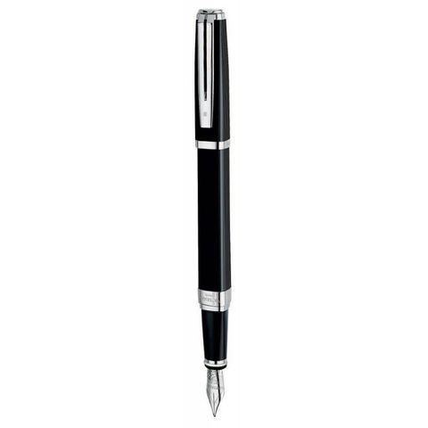Перьевая ручка Waterman Exception Night&Day Black ST перо золото 18Ct M (S0636840)
