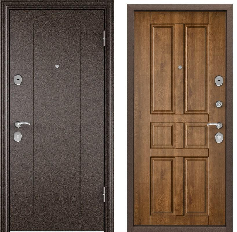 Входные двери Torex Delta 100 RGSO медь D12 дуб медовый generated_image__2_.jpg