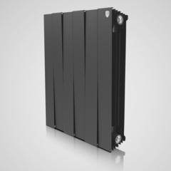 Радиатор биметаллический Royal Thermo PianoForte Noir Sable (черный)  - 12 секций