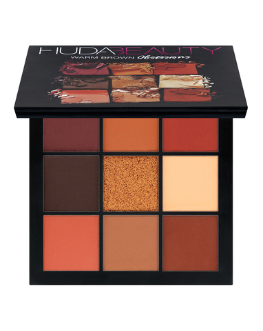 Huda Warm Brown Obsession palette