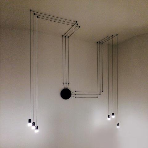 Световая инсталляция 02323