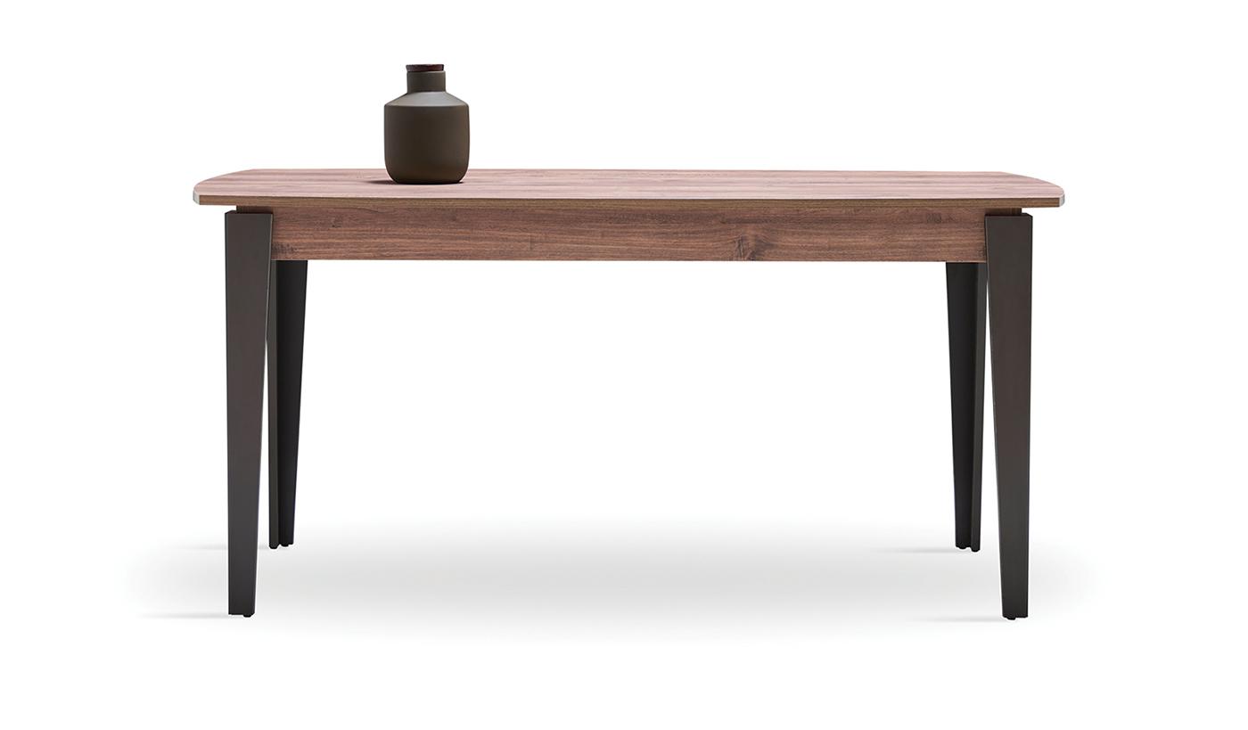 Обеденный стол ORLANDO (Нераздвижной) Орех
