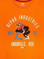 Футболка Alpha Industries JAYHAWK (Оранжевая)