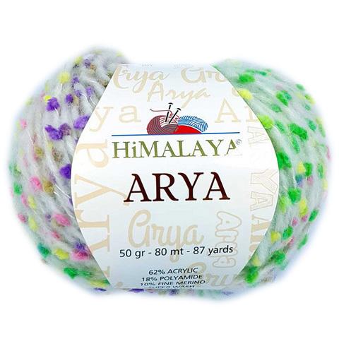 Arya Himalaya (62% акрил, 10% альпака, 18% пол-д, 10% меринос, 50гр/80м)