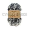 Wool Sea Fancy Fur 714 (чёрно-серый меланж)