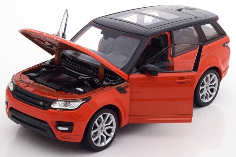 Машинка-игрушка Range Rover Sport 2015 Orange