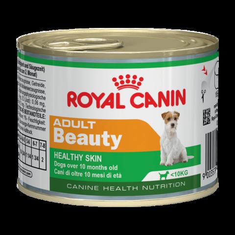 Royal Canin Adult Beauty Mousse Консервы для взрослых собак для поддержания здоровья шерсти и кожи, Мусс
