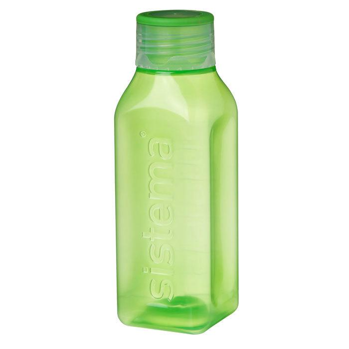 """Бутылка для воды Sistema """"Hydrate"""" 475  мл, цвет Зеленый"""
