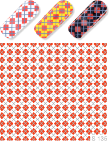 Слайдер-Дизайн  S 135 красный
