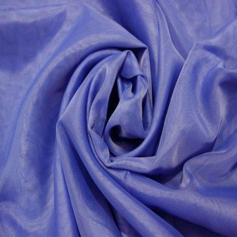 Ткань вуаль однотонная для штор - синяя. Ш - 300 см. Арт. -SH 66A