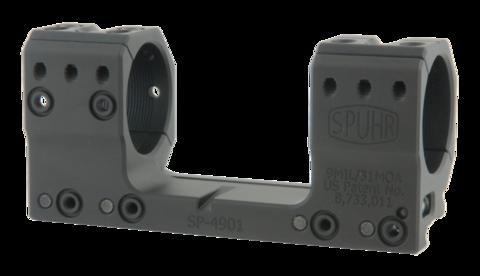 Тактический кронштейн SPUHR D34мм на Picatinny, H30мм, наклон 9MIL/30.9MOA (SP-4901)