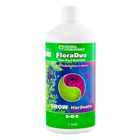 Минеральное удобрение FloraDuo Grow HW 1л (для жесткой воды)