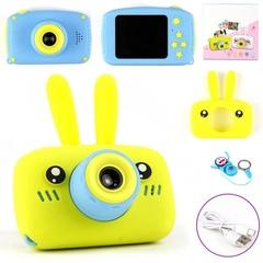 Детский фотоаппарат зайка желтый