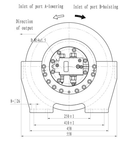 Стандартная лебедка IYJ33-57.5-120-16-ZPNG