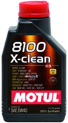 Motul 8100 X-clean GEN2 5W40 1 л
