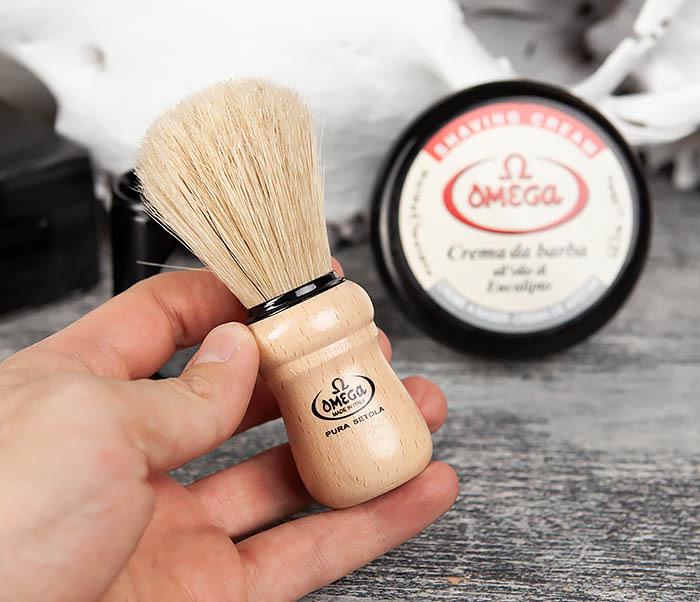 RAZ59.80005 Набор для бритья, помазок и крем фото 06