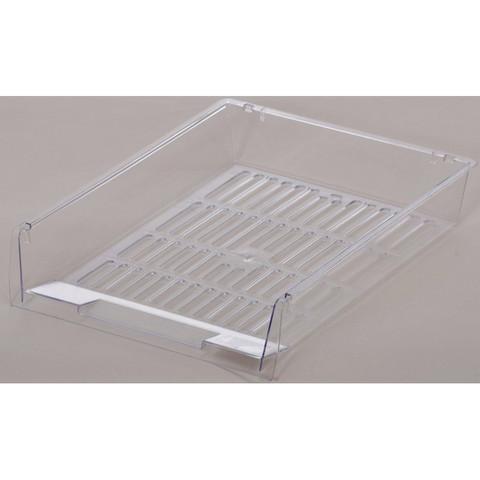 Лоток для бумаг Attache решетчатый прозрачный