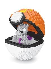 Конструктор Wisehawk & LNO Покемон бол Мьюту 442 детали NO. 310 Mewtwo Pokemon ball Series