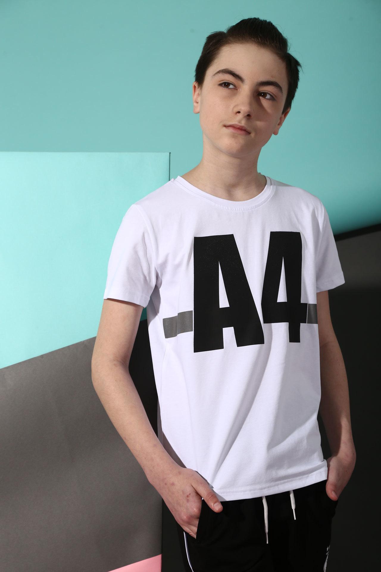 Футболка для мальчика A4 Bold Турция, 7529 (140-176)