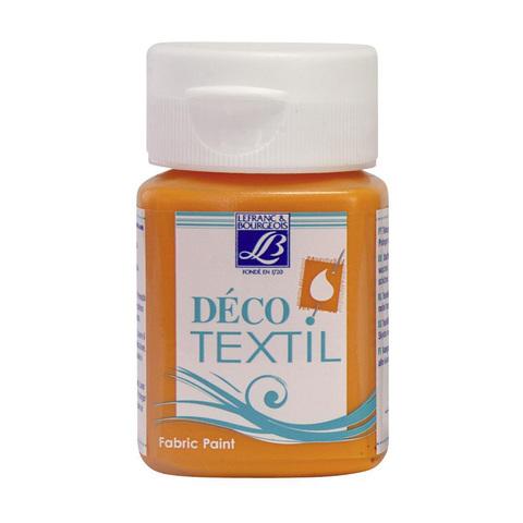 Краска по ткани Lefranc&Bourgeois DECO TEXTIL 50 мл 221, мандарин