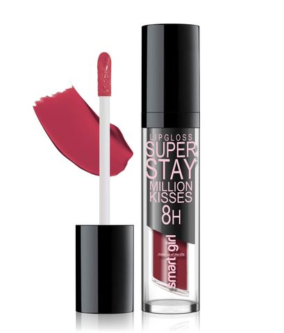Супер стойкий блеск для губ Smart girl Million kisses тон 208
