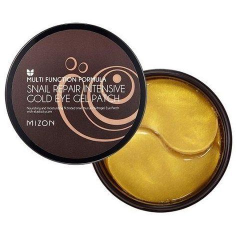 Mizon Патчи гидрогелевые с муцином улитки Snail Repair Intensive Gold Eye Gel Patch