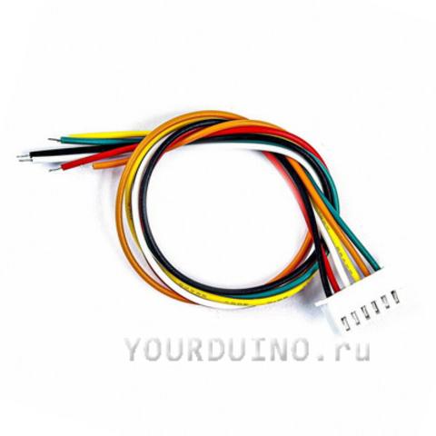 6-проводный кабель с разъемом XH2.54-6P (30 см)