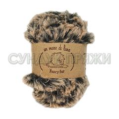 Wool Sea Fancy Fur 1042 (черно-бежевый меланж)