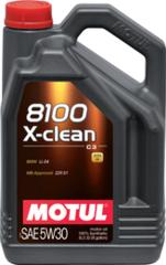 Motul 8100 X-clean+ 5W30 5 л