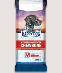 Лакомство для собак Happy Dog Жевательные кости - дополнительное кормление