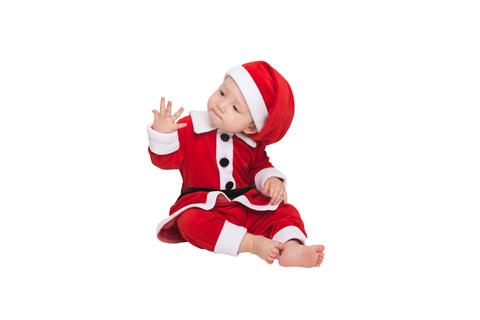 Карнавальный костюм - комбинезон Санта