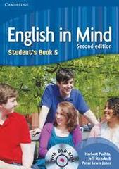 English in Mind (Second Edition) 5 Student's Book with DVD-ROM