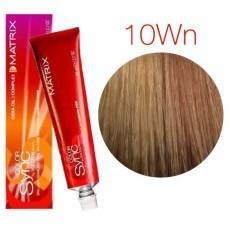 Matrix Color Sync: Warm Neutral 10WN очень-очень светлый блондин теплый натуральный, крем-краска без аммиака, 90мл