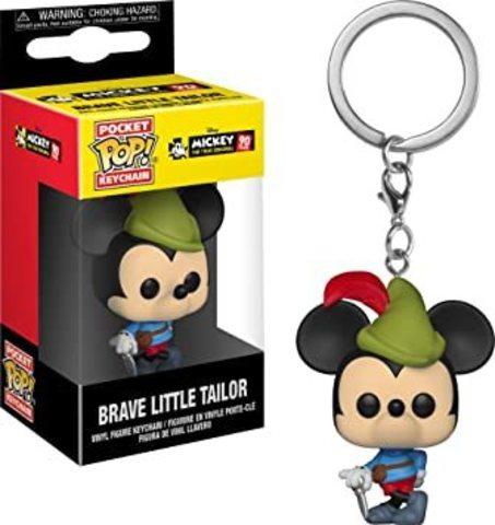 Брелок Микки Маус || POP! Keychain Brave Little Tailor