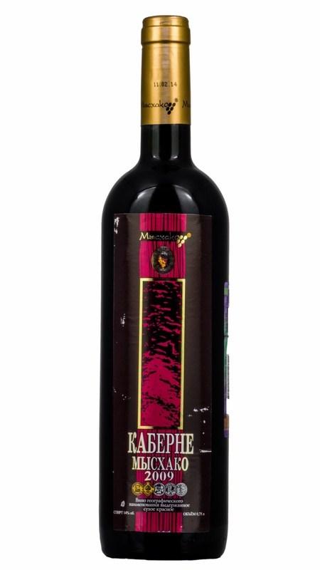 Вино Мысхако Каберне Совиньон