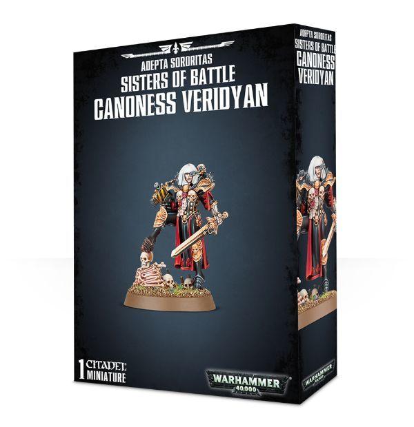 Canoness Veridyan. Коробка