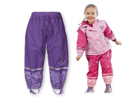 Полукомбинезон для девочки Lupilu розовый непромокайка