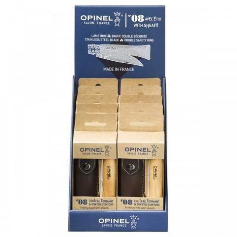 Набор Opinel  (OP-001193) №8 из 10 ножей + чехол