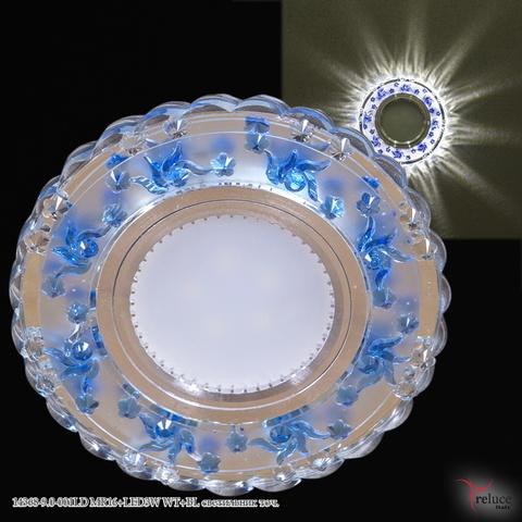14368-9.0-001LD MR16+LED3W WT+BL светильник точ.