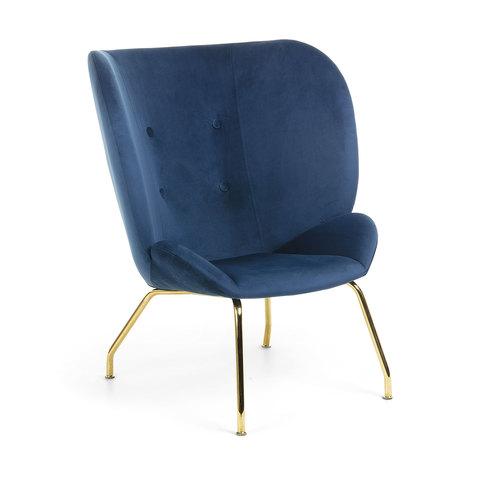 Кресло Egg Vernen темно-синее CC0892J25