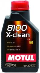 Motul 8100 X-clean+ 5W30 1 л